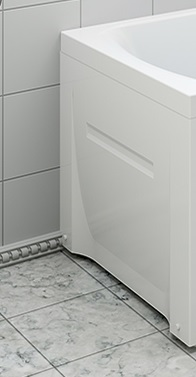Панель боковая VIOLA 75 202734 ванная комната 8 кв